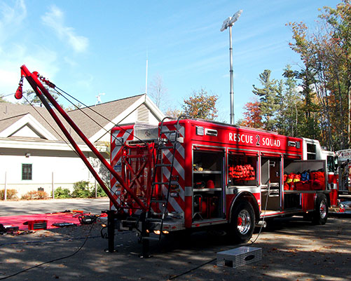 fire truck glen arbor