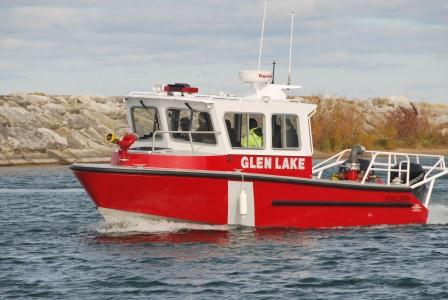 glen lake fire rescue boat