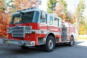 E311 glfd fire truck