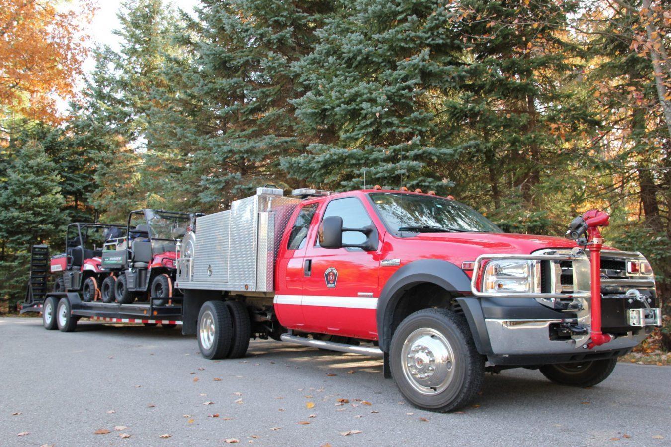 glfd truck 381 pulling atv's