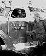 glen arbor township - historic glen lake fire dept pic