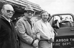 3 fire chiefs - historic glen lake fire dept pic