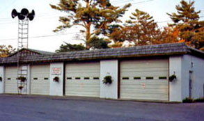 original station - historic glen lake fire dept pic