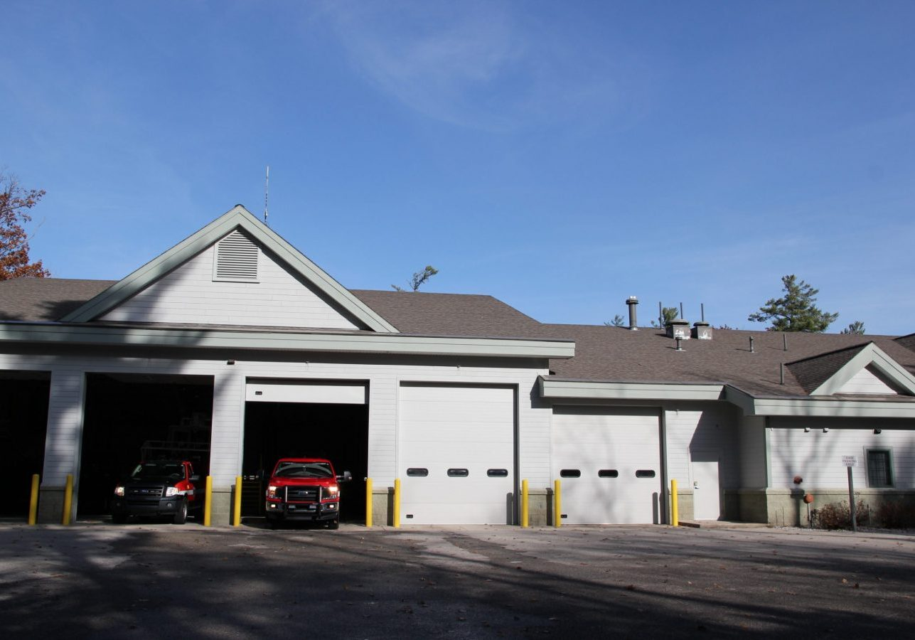 outside of building; glfd station 1